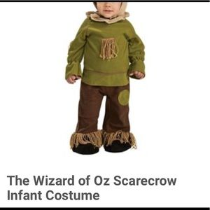 6-12 months scarecrow costume wizard of oz